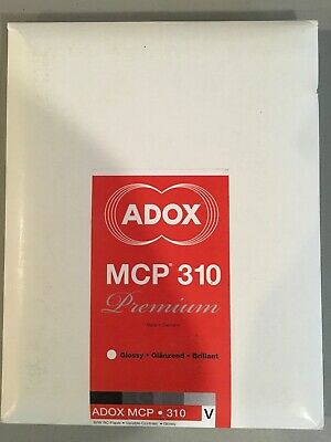 ADOX MCP 310. Glossy B&W RC Paper 25 Sheets 8 X 10 Sealed Lot Of 2