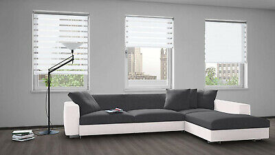Zebra Blinds Shade Day and Night Dual Layer Window and Door Roller Blind