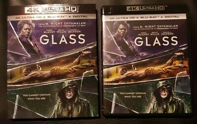 Glass (4K Ultra HD and Blu-ray) Bruce Willis, Samuel L Jackson - No Digital