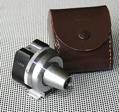 Leica Leitz Viooh Universal Viewfinder Overhauled By Malcolm Taylor Nice!