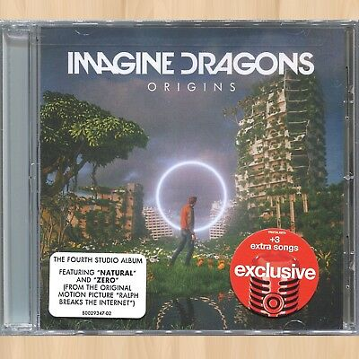 +3 EXTRA SONGS---> IMAGINE DRAGONS Origins EXCLUSIVE CD  Burn Out REAL LIFE 0113