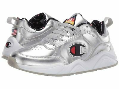 5e46fd7c132 New Mens Champion 93Eighteen Metallirunning casual Shoes - 10.5 eur 44.7  Silver