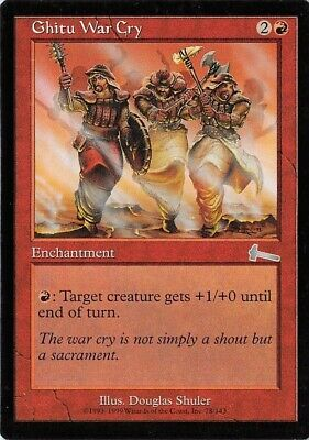 4 Ghitu Fire = Red Invasion Mtg Magic Rare 4x x4