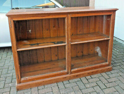 Victorian Pitch Pine Shop Display Counter Reclaimed From Haberdashery Shop