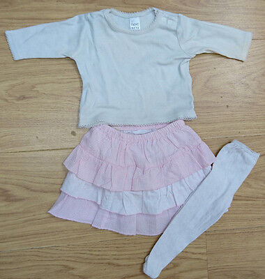 Next Bhs Baby Girls Bundle Age Newborn Top Skirt Tight Outfit