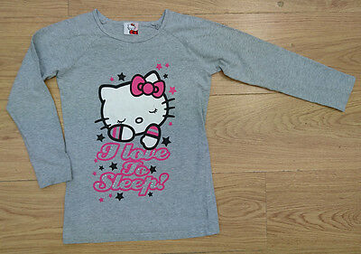 NEXT girls pyjamas top age 8-9 years hello kitty sleepwear