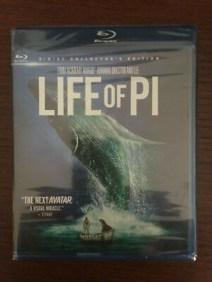 Life of Pi: 3D: 3-disc Collector's Edition (Blu-Ray / DVD / 3D)