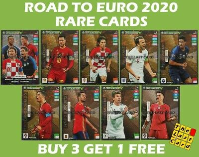 Panini Uefa Road To Euro 2020 Rare & Limited Adrenalyn Xl - Buy 3 Get 1 Free