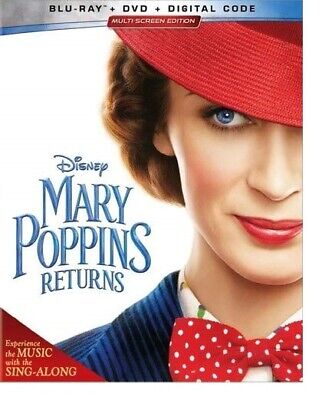 Mary Poppins Returns Blu-ray Only Disc Please Read