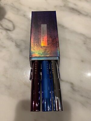 BN LIMITED ED FENTY BEAUTY Snow Nights Frosted Metal Lipstick Set