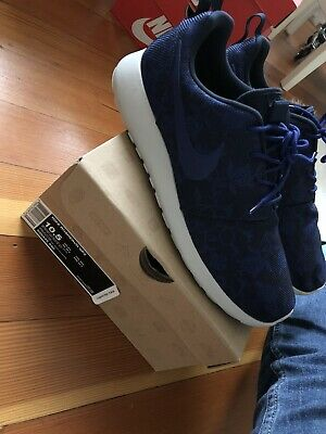new concept 95386 d148d Nike Roshe Run Mens GPX Blue Floral size 10.5 worn only once. With Box