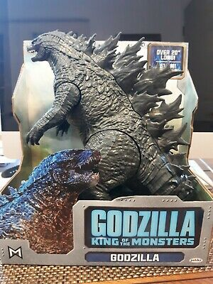 "Jakks Pacific Giant Godzilla 2019 Movie King Of The Monsters 20"" Action Figure"