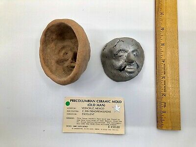 pre-Columbian Mold - OLD MAN