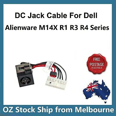 DC POWER JACK CABLE For DELL Alienware 14 M14X R1 R3 R4  5D8TK 05D8TK P39G