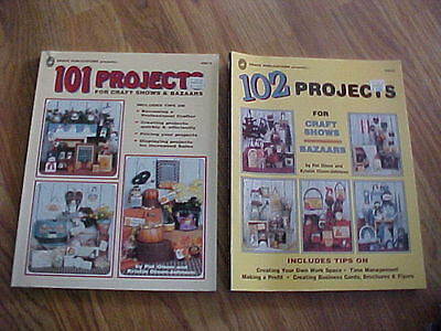101 & 102 PROJECTS FOR CRAFT SHOWS & BAZAARS -  Great Condition
