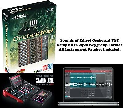 Edirol Orchestra Keygroup Expansion for Akai MPC X, MPC Live or MPC Software