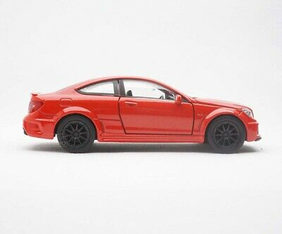 New Hot Mercedes Benz C63 Amg Coupe 1/34 Diecast Car Red Colour Toy Collection