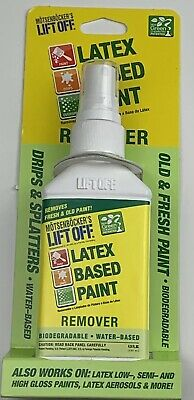 LIFT OFF Latex Paint Remover Water Based Biodegradable Eco Friendly 4.5oz (b2)