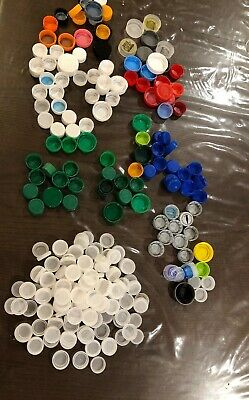 300 Bottle Caps -various Types Sizes And Colors