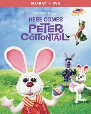 Here Comes Peter Cottontail - Blu-ray + DVD (2019) BRAND NEW