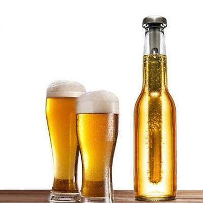 NEW Beer Chiller Stick Set of 2 Stainless Steel Chiller Ice Cold Pourer LI