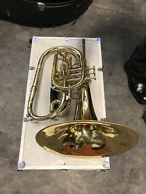 King 1120 Marching Mellophone with Case - Multiple Horns Available -
