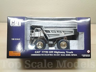 CAT 777D Off Highway Truck-1:50 Scale Diecast Model by NORSCOT, Limited Edition!