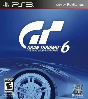 Gran Turismo 6 - Sony PlayStation 3 PS3 Game
