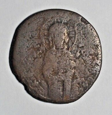 Coins & Paper Money Byzantine Empire Coin Very Rare Bronze Follis 32mm Uncleaned Price Remains Stable