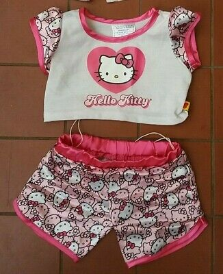 Build A Bear Police HELLO KITTY  Pyjamas Clothes