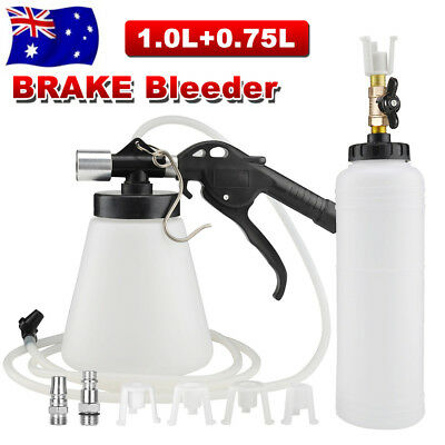 AU Hand Held Brake Bleeder Tester Bleed Kit Vacuum Pump Car Motorbike Bleeding
