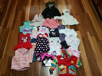 Girls Clothes Size 1 Mixed Lot x 35 Pieces