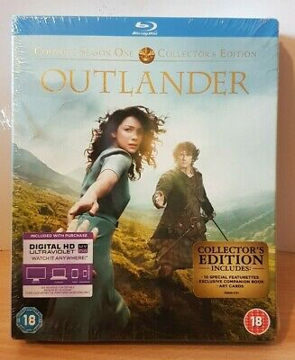 Outlander Complete Season Series 1 Blu Ray Limited Collectors Edition BNS