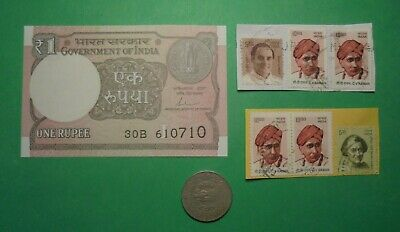 India Banknote,coin,stamps Note Is Unc