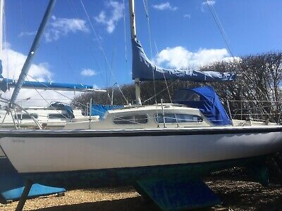 21 ft Sailing Yacht - Twin keel