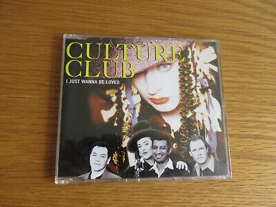 CULTURE CLUB I Just Wanna Be Loved 1998 UK 3 TRACK CD SINGLE
