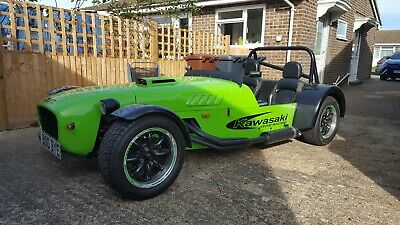 Stuart Taylor built MK Indy with ZX9R motor.