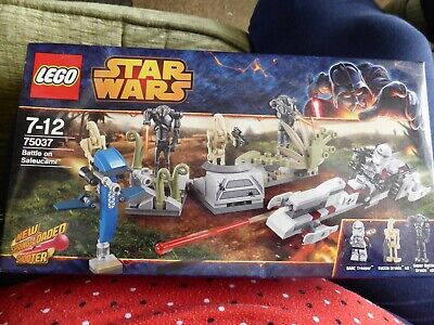 Lego Star Wars Bauanleitung Battle on Saleucami 75037