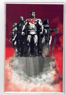 Justice League #1 DC RARE JOCK Monument VIRGIN Variant Cover