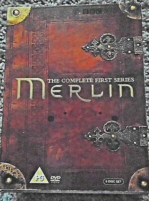 Merlin The Complete First Series 6 Disc Dvd Boxset (Dvd, 2009) New!