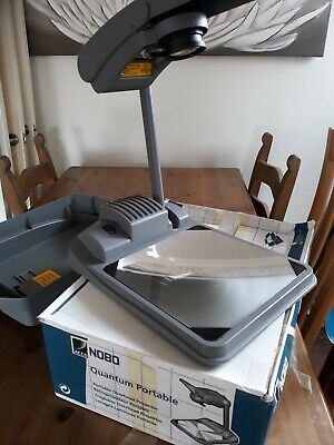 NOBO QUANTUM 2523T Portable Overhead Projector with Carry Case - Pre-owned