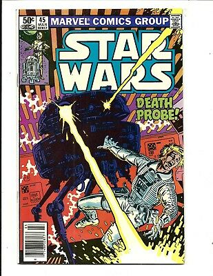 Star Wars # 45 (Marvel Comics, Mar 1981), Nm-