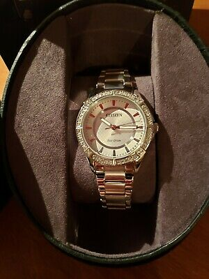 Womens citizen eco drive watch silver