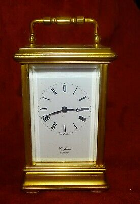 St James of London carriage clock , not running