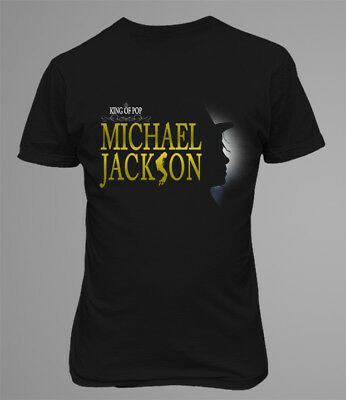 Michael Jackson King Of Pop Men Printed T-shirt