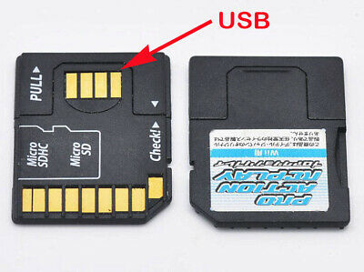 USB Card Reader Micro SD TransFlash TF to SD SDHC Memory Card Adapter Converter
