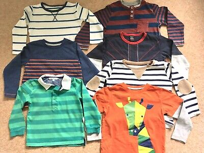 Boys Clothes Long Sleeved Tops T Shirt Bundle Age 2 -3 Years Next John Lewis H&M