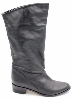 24c57619c91 LORD   TAYLOR Faux Black Leather Riding Boot Size 6.5 -  45.00 ...