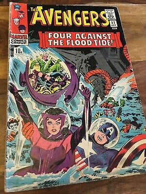 The Avengers Marvel Silver Age # 27 - Good ; 1966!