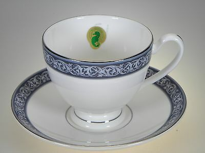Waterford China Westport Tea Cup & Saucer NEW WITH TAGS Made in England